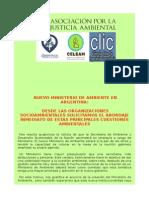 2015 - 12 - 09 - Comunicado Ministerio de Ambiente