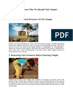 10 Scientific Reasons Why We Should Visit Temple.doc