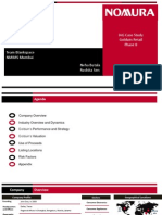 Ecommerce pitchbook nomura case study