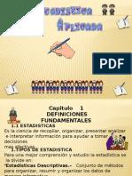 Definiciones Estadistica