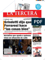 Diario La Tercera 09.12.2015