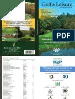 2016 Golf & Leisure Savings Book
