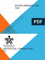 Plan de Gestión Ambiental Del Complejo Sur