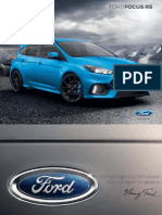 Ford Focus RS EBrochure
