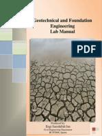 Geotechnical Laboratory Manual-II - Copy