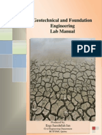 Geotechnical Laboratory Manual-II - Copy
