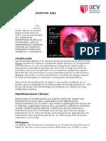Caso Clinico de Hemorragia digestiva baja