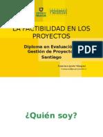 La Factibilidad de Los Proyectos_DEGP_Profesor Francisco Vasquez
