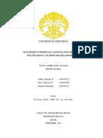 International Human Resource Management - PT Kinocare Era Kosmetindo