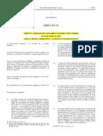 Directiva 2010-64. Derecho a Traducción