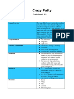 edci 270 case 4 lesson plan-crazy putty weebly
