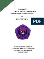 Laporan Praktikum Proses Produksi