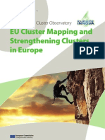The European Cluster Observatory - EU Cluster Mapping and Strengthening Clusters in Europe