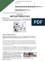 Concepto de método inductivo