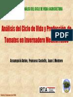 ACV y Tomates- A Anton
