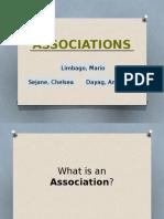 Law Association Ppt