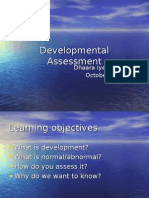 Developmental Assessment