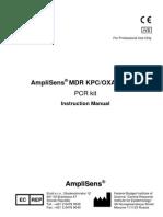 Instuctiune Kit PCR OXA 48
