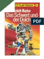 BattleTech 04 - Mayhar, Ardath - Das Schwert Und Der Dolch