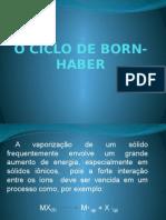 o Ciclo de Born-haber