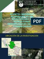Agentes Naturales Responsables Del Biodeterioro en Estructuras Arqueologicas Del Parque Arqueológico de Choquequirao - Cusco