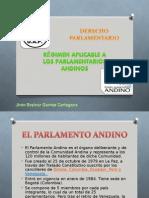 Regimen Aplicable a los Parlamentarios Andinos