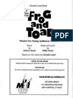 frog and toad script