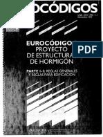 UNE-ENV1992-1-1 Proyecto de estructuras de hormigon. Reglas generales.pdf