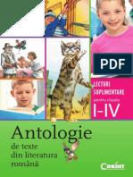 Antologie de Texte Din Literatura Rom