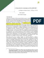 Aguirre, Carlos (2000).- Delito, Raza y Cultura. La Criminología en El Perú