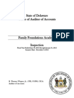 Family Foundations Academy Inspection Report