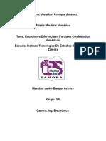 EDP Con Metodos Numericos