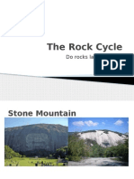 The Rock Cycle Presentation October 7th
