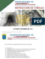 Mecánica de Rocas aplicado a tuneleria