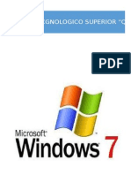 Windows 7 Proyecto