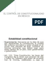 Control de Constitucionalidad. Garantías constitucionales