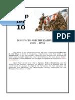 Bonifacio and the Katipunan and the Revolution