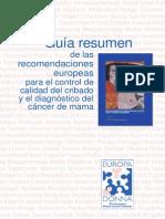 Resumen Recomendaciones Calidad Europea Mrx