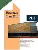 Strategic Plan (Fictitious)