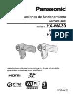 Guia de Camara (Panasonic Hx-wa3)