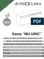 Manual Mundoclima Unico2