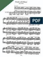 Этюд № 10, op. 25