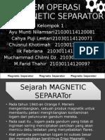 5. Magentic Separator Teori