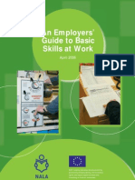 An Employers Guide to Basic Skills at Work