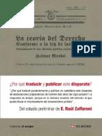 LaTeoriaDelDerecho Gelmut Nicolai