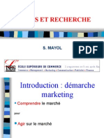 Etude Et Recherche Marketing