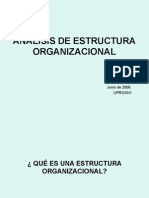 Analisis Organigrama