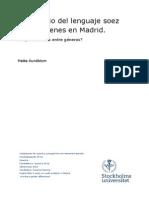 Un Estudio Del Lenguaje Soez en Madrid