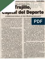 16-11-13 Trujillo, Capital del Deporte