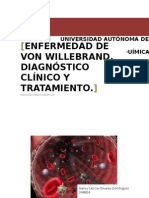 enfermedad de von willebrand